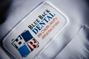 Blue Back Dental Patch