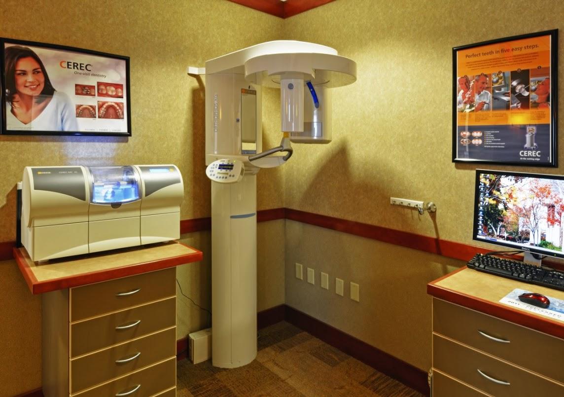 Technology blue back dental for X ray room design