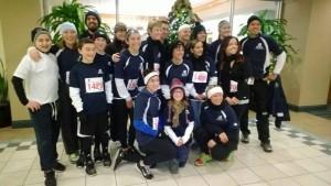 The Blue Back Dental Team at the 2013 Mitten Run