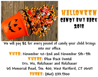 2018 Halloween Candy Buy Back in West Hartford